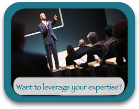 Want to leverage your expertise?