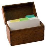 Box of file folders