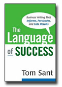 """The Language of Success"" by Dr. Tom Sant"