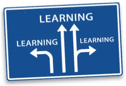 """""""Learning"""" road sign"""