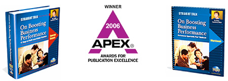 The APEX Award-winning 'Straight Talk Success Program' workbook set