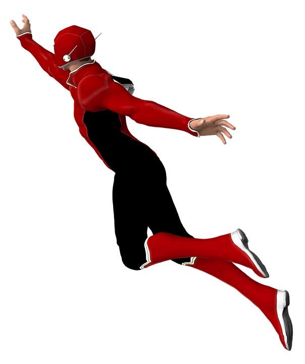 Last-minute superhero