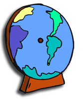 Flat version of the world